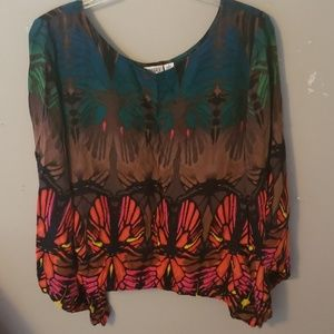 Cato blouse with gorgeous flowy sleeves